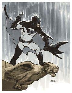 Batman - C2E2 2014 Pre-Show Commission by Mahmud Asrar