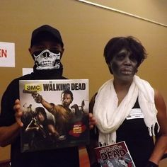 Walking Dead Party: Team Michonne and our costume winners! | #WalkingDead #ConyersRockdaleLibrary www.conyersrockdalelibrary.org
