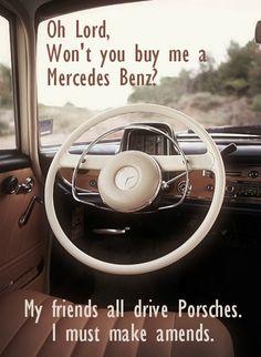 Mercedes Benz - Janis Joplin - Classic Rock Lyrics.