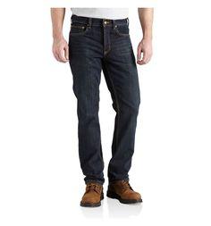 JEANS SLIM FIT - STRAIGT LEG CARHARTT - 101118 Jeans en coton denim résistant et multi-usages
