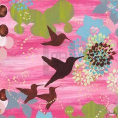 Palm Beach Hummingbird en vol - Wall Art