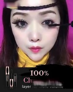 😍 Insanely lengthening & volumizing! 😍 24H long-wear & Smudge proof!� 😍 Vitamin b5 & collagen for lash growth! Beauty Skin, Health And Beauty, Beauty Makeup, Hair Makeup, Hair Beauty, Makeup 101, Eyebrow Makeup, Makeup Looks, Eyeliner