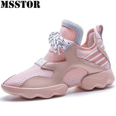 5679c4ced52466 MSSTOR2018 Women Running Shoes Woman Brand Large Size 35-42 Summer  Breathable Ladies Sneakers Casual