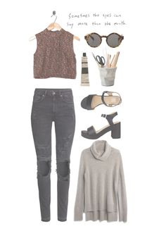 """""""I Forgot Where We Were"""" by sierrabrett44 ❤ liked on Polyvore featuring H&M…"""