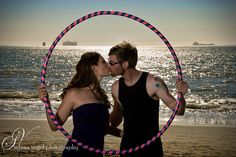 Selena Vogel Photography, Engagement Photography, Beach Photo, Hula Hoop Photo