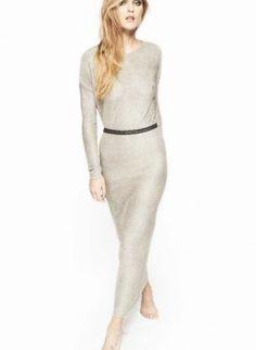 Long Sleeve Simple Maxi Dress,  Dress, long sleeve dress  maxi dress, Casual