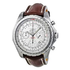 BREITLING Men's Bentley Motors T Watch with Brown Leather Strap. Shop Breitling watches on vpUSA today!