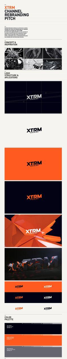 xtrm #branding #identity #brand #design