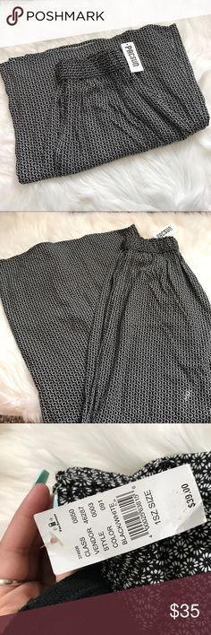 Brandy Melville flowy wide leg clothe pants ⚡️NO trades  ⚡️open to ALL offers!  ⚡️ bundle for MAJOR discounts!  ⚡️feel free to ask any questions ⚡️ I will not respond to offers in the comments, please use the offer button for all offers.  ⚡️Please only ask for model photos if you are very interested! Brandy Melville Pants Wide Leg