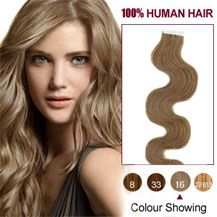 Now you can add instant length to your hair by trying our tape In Hair Extensions Canada.  It is very simple to apply and remove. These are great options to conventional extensions.
