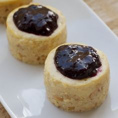 Vanilla Bean Mini Cheesecakes « Go Bold with Butter