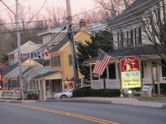 Take a stroll down our main street, lined with restored historic buildings and unique shops! Main Street, Street View, Beautiful Streets, Shop Fronts, Old Buildings, Small Towns, East Coast, Pennsylvania, Places Ive Been