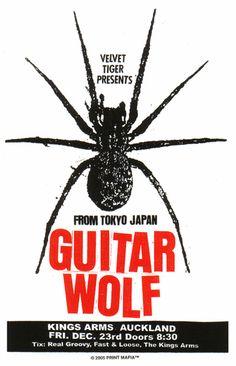 Guitar Wolf.