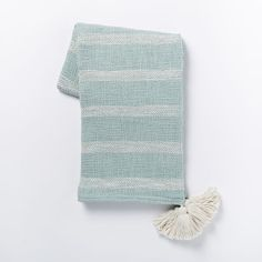 Tassel Stripe Throw | west elm