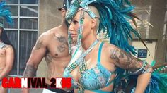 Amber Rose in Trinidad for Carnival 2015