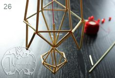 Blogg - Handante Triangles, Projects To Try, Crafts, Ornaments, Home Decor, Manualidades, Heavens, Decoration Home, Room Decor