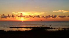 Gorgeous sunset over the sound.  Jaime Pennington