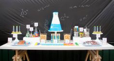 Party Inspirations: Scientists for a day! by Its a Cake Thing (By Jhoanee)The Sweets Table