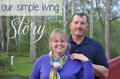 Our Simple Living Story - We don't think our story is unlike many of our simple living friends as it started with a burn-out and a desire to live a more stress-free lifestyle. #homesteading #simpleliving #homemaking http://oursimplelife-sc.com