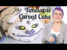 Gruff the Neverbeast Cake - a time-lapse video - YouTube