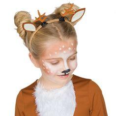 Reindeer Makeup, Reindeer Face, Fantasy Make Up, Christmas Makeup, Diy For Kids, Face Makeup, Nail Art, Hair Styles, Education