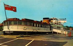 Princess Mary Restaurant - not sure of the date though there is flag is the red ensign