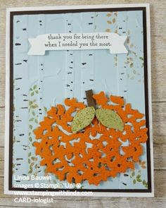 Check out how you can get a free Thoughtful Branches Tutorial Linda Bauwin Your CARD-iologist Helping you create cards from the heart. #halloweenthoughtfulbranches #lindabauwin