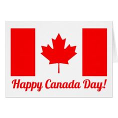 Shop Happy Canada Day Canadian flag greeting card created by iprint. Personalize it with photos & text or purchase as is! Birthday Greeting Cards, Custom Greeting Cards, Card Birthday, Diy Party, Party Gifts, Card Party, Happy Canada Day, Red Gifts, Happy Planner