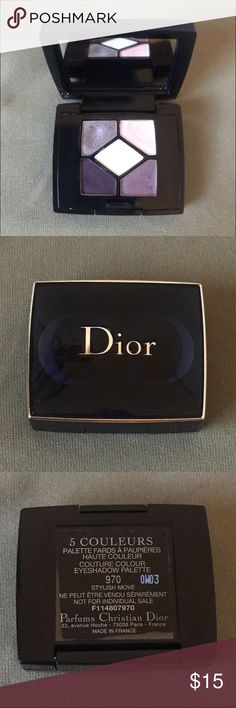 Dior miniature eye shadow palette In gently used condition Christian Dior Makeup Eyeshadow