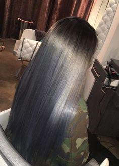 Silver hair bluish black undertone....what you think?