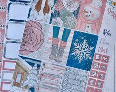 Winter Fairy Tale weekly Happy Planner Sticker kit Full box | Etsy Winter Fairy, Planner Layout, Planner Decorating, Weekly Planner, Happy Planner, Planner Stickers, Fairy Tales, Decorative Boxes, Banner