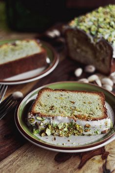 Pistachio Pound Cake - The Candid Appetite
