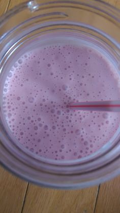 Strawberry Anti-Cancer Budwig Smoothie