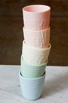 Alder & Co. Porcelain Cups