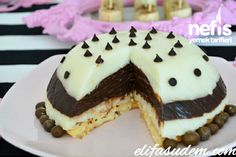 Sütlü Bomba 1 Pudding Cake, Petit Fours, Cake Rolls, Bundt Cakes, Tart, Pancakes, Cakes, Tarts, Griddle Cakes