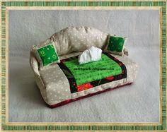 cajita-sillón para pañuelos