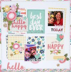 Hello+Happy - Scrapbook.com