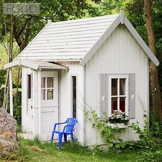 Elegant cubby house. this photo represents a photo of my childhood. i think every little girl owned a cubby house and always dreamt of having it as her bedroom.