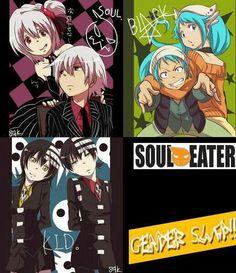 Soul eater gender Bender