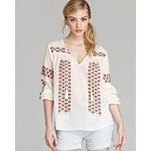 Joie Blouse - Nira Embroidered