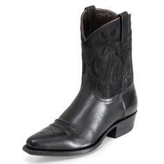 17250 Bota Piel Negra #ShopBoots #BotasOnline #botas #boots #Sendra