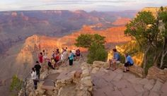 If you've never been, you gotta check out the Grand Canyon.
