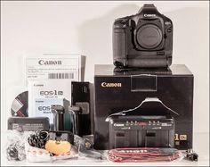 Canon EOS 1Ds Mark III - 22MP - OVP - neuwertig
