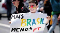 Manifestação contra o PT reúne milhares em São Paulo - Brasil - Notícia - VEJA.com