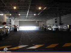 Buque de Proyección Estratégica (LHD) Juan Carlos I (L61), Spanish Navy (Armada Española) - Hangar/light vehicle deck.