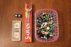 The 'Saran Wrap Ball' Money Christmas Game Challenge
