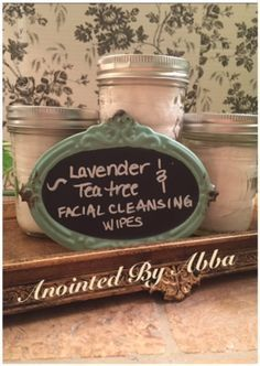 Anointed by Abba: Lavender & Tea Tree Facial Cleanser Wipes