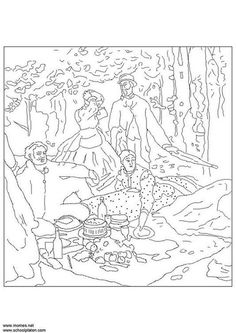 coloring page claude monet coloring picture claude monet free coloring sheets to print and