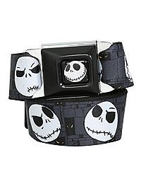 HOTTOPIC.COM - The Nightmare Before Christmas Jack Seat Belt Belt