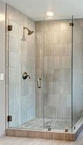 Showers Corner Walk In Shower Ideas For Simple Small Bathroom With Natural Stone Shower Pans Decor Shower Stalls For Small Bathrooms Ideas With Corner Style And Door Or Doorless Designs Small Bathroom With Shower, Master Bathroom Shower, Small Showers, Simple Bathroom, Bathroom Ideas, Tiny Bathrooms, Corner Showers, Glass Showers, Bathroom Interior